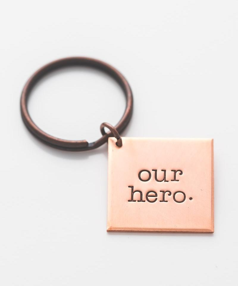 'Our Hero' Key Chain
