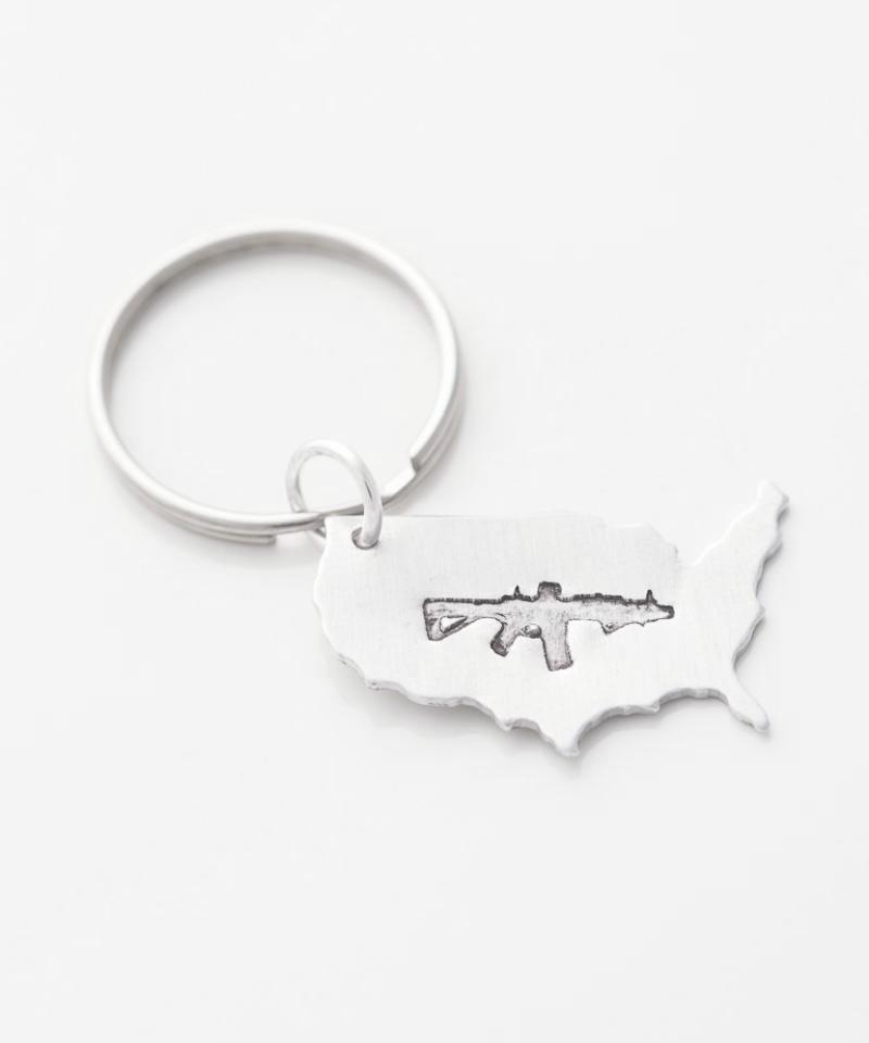 Freedom Rifle USA Key Chain