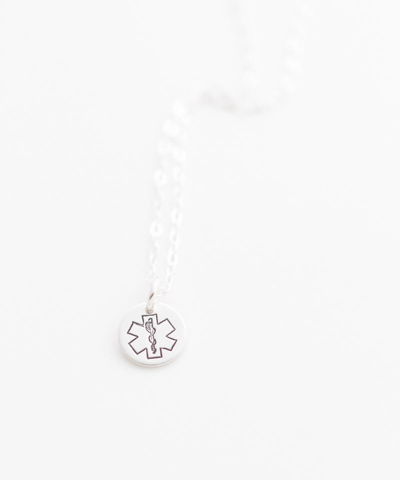 EMT Tiny Coin Necklace