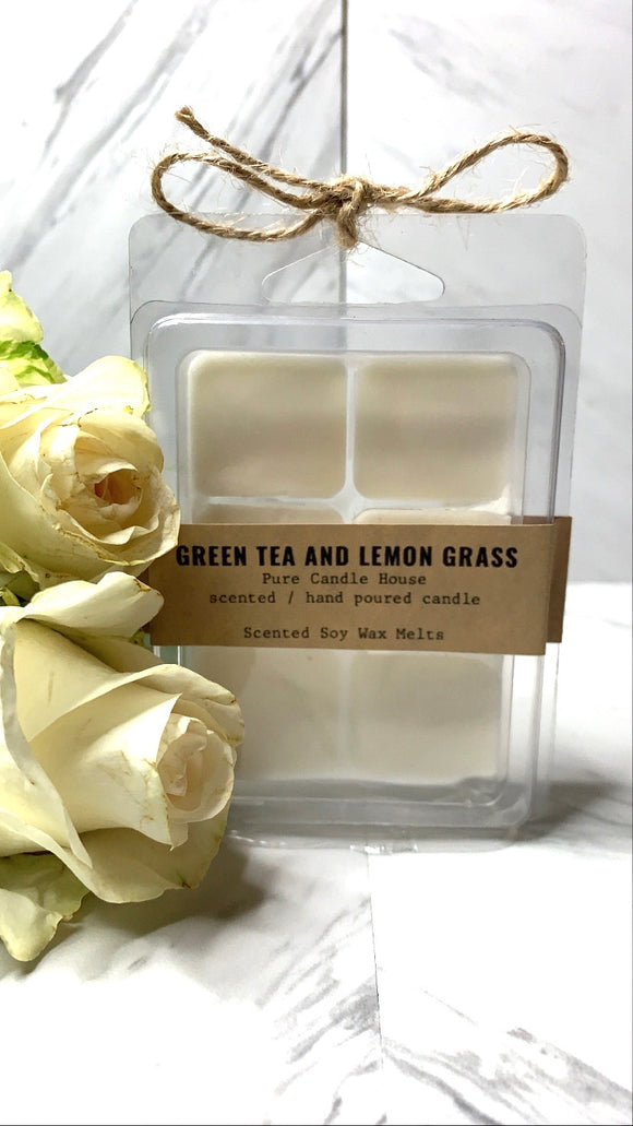 Green Tea and Lemongrass | Wax Melt