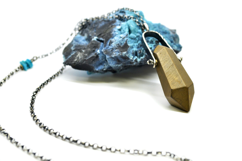 Gold Quartz | Archer Necklace