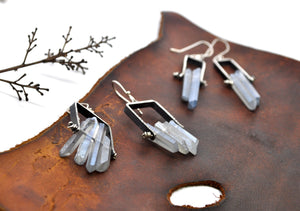 Blue Quartz No.4 | Cave Earrings
