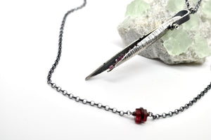 Garnet No. 1 | Hull Necklace