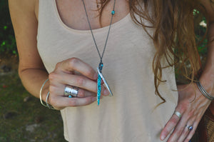 Turquoise No.1 | Husk Necklace