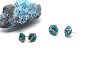 Apatite | Maven Stud Earrings