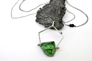 Ruby Zoisite | Ariat Necklace