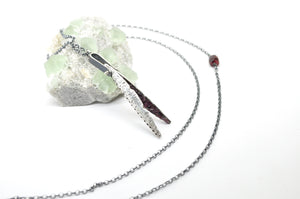 Garnet No. 2 | Hull Necklace