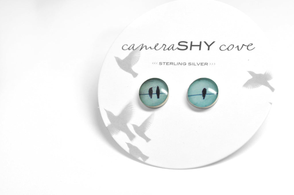 TRIO. Photo Stud Earrings - cameraSHY cove