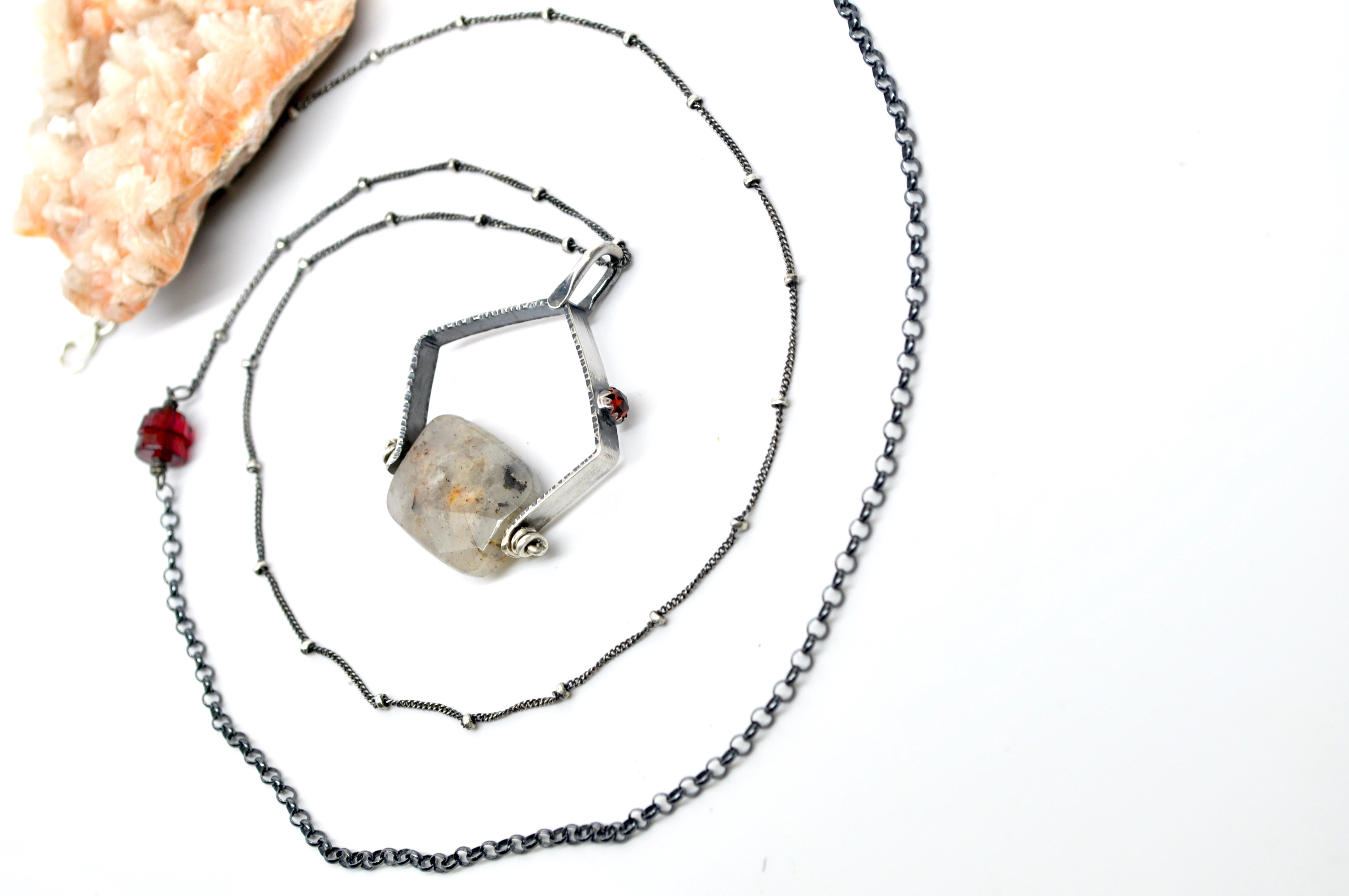 Rutilated Quartz | Ariat Necklace