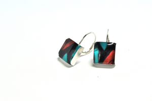 SHARD. Leverback Earrings. - cameraSHY cove