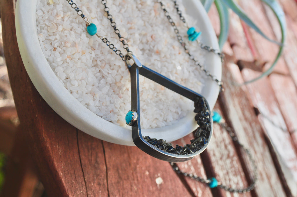 Tourmaline | Terrain Necklace | Ready to ship