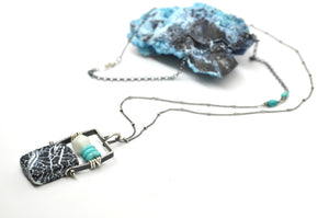 Agate | Abacus Necklace