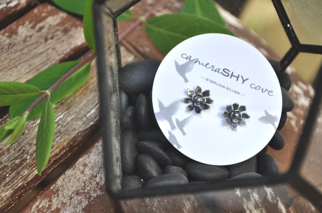 Wildflower | Large stud earrings