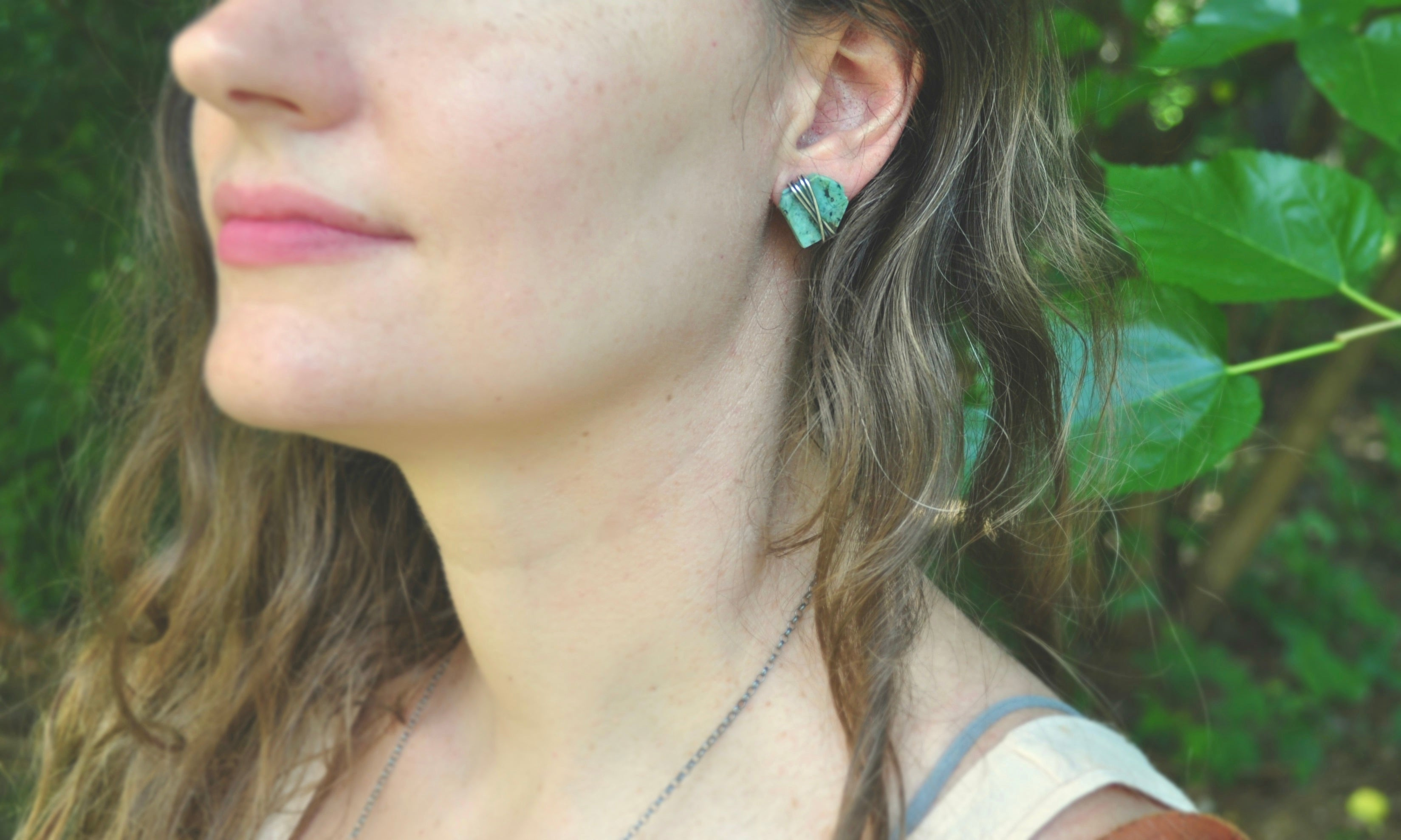 African Turquoise | Maven Stud Earrings