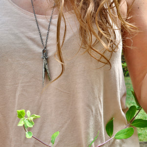 Peridot | Husk Necklace