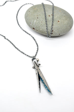 Apatite | Husk Necklace