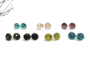 Crushed Stone Studs - Small size - cameraSHY cove