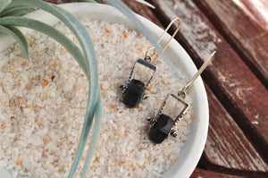 Tourmaline | Short Axel Earrings