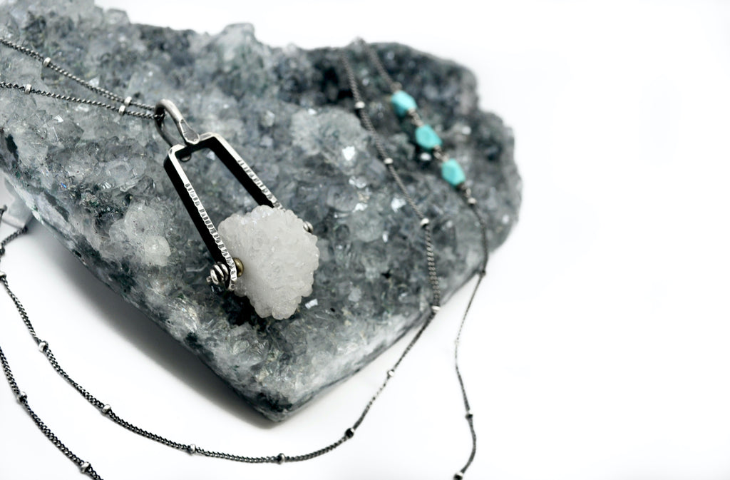 Druzy | Axel Necklace