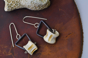 Vertebrae | Tripod Earrings