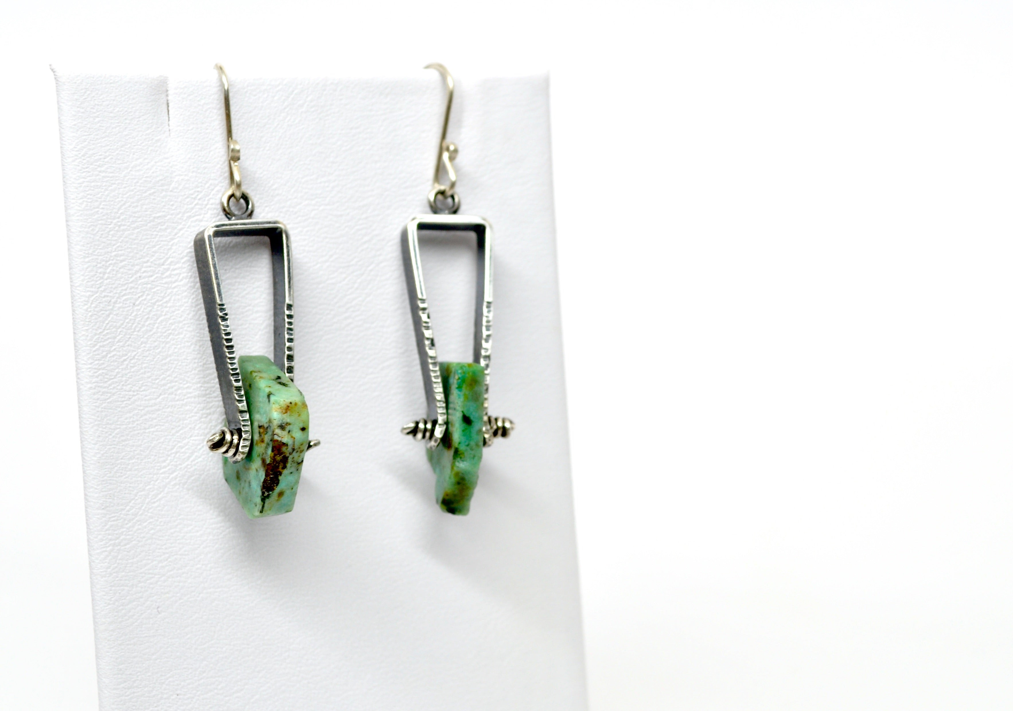 African Turquoise | Axel Earrings