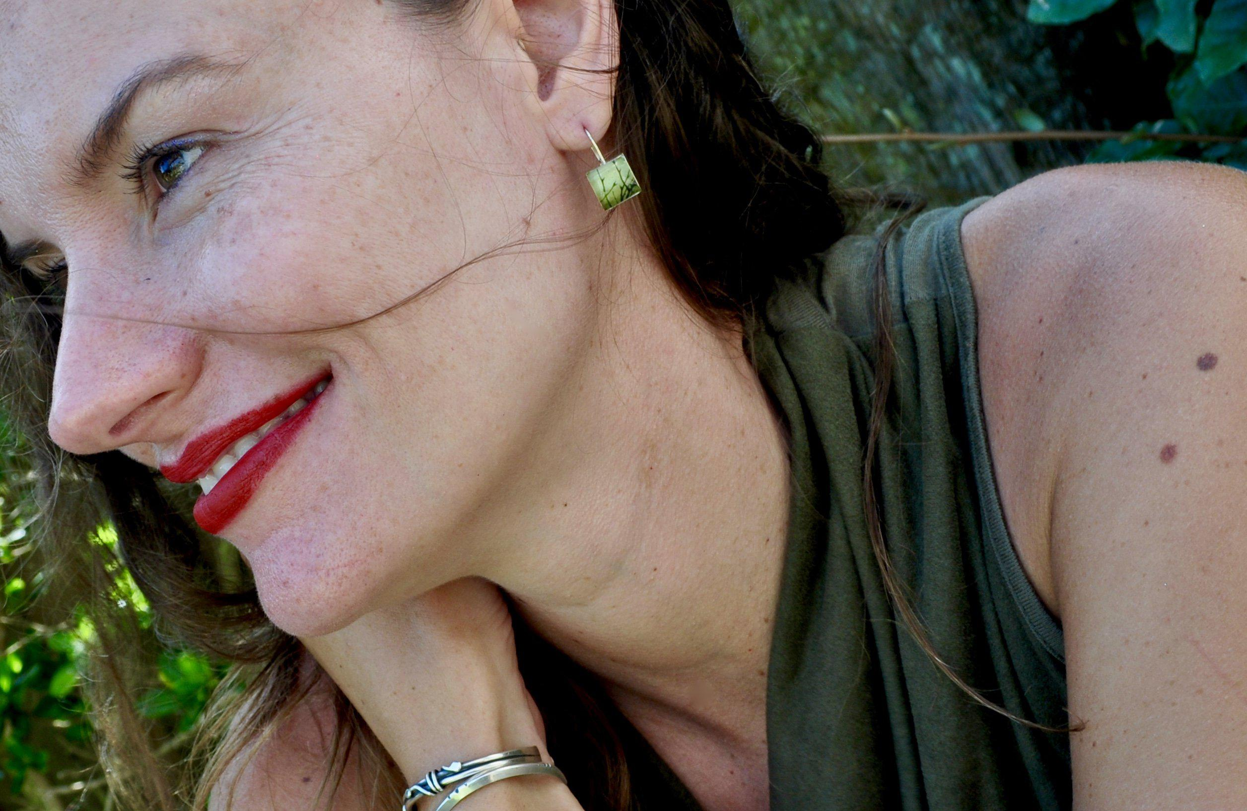 ENCHANTED. Leverback Earrings. - cameraSHY cove