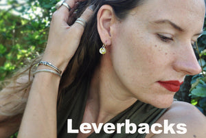 You pick. Leverback Earrings - cameraSHY cove