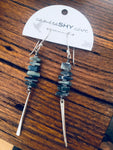 Kyanite Stack Earrings.