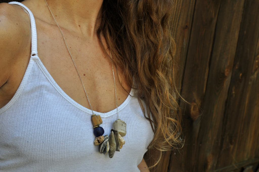 Adrift necklace - cameraSHY cove