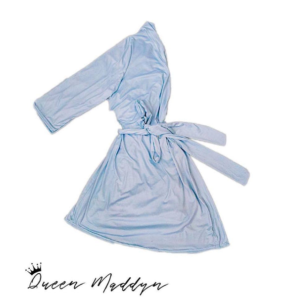 Dusty Blue Robe (Matches Blue in Classic)