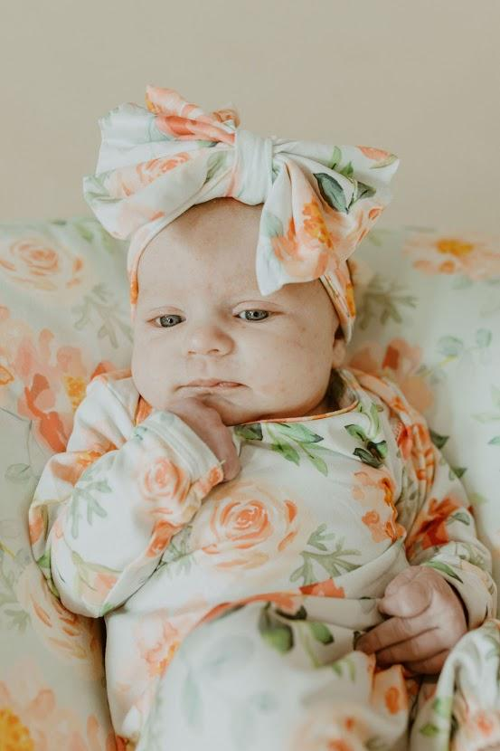 Layla Rose Baby Gown
