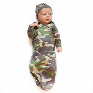 Camo Baby Gown