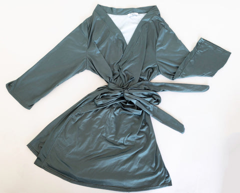 Forest Green Ladies Robe
