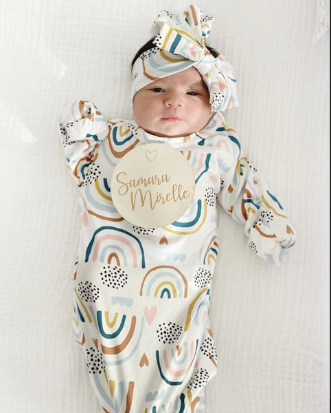 Riley Baby Gown