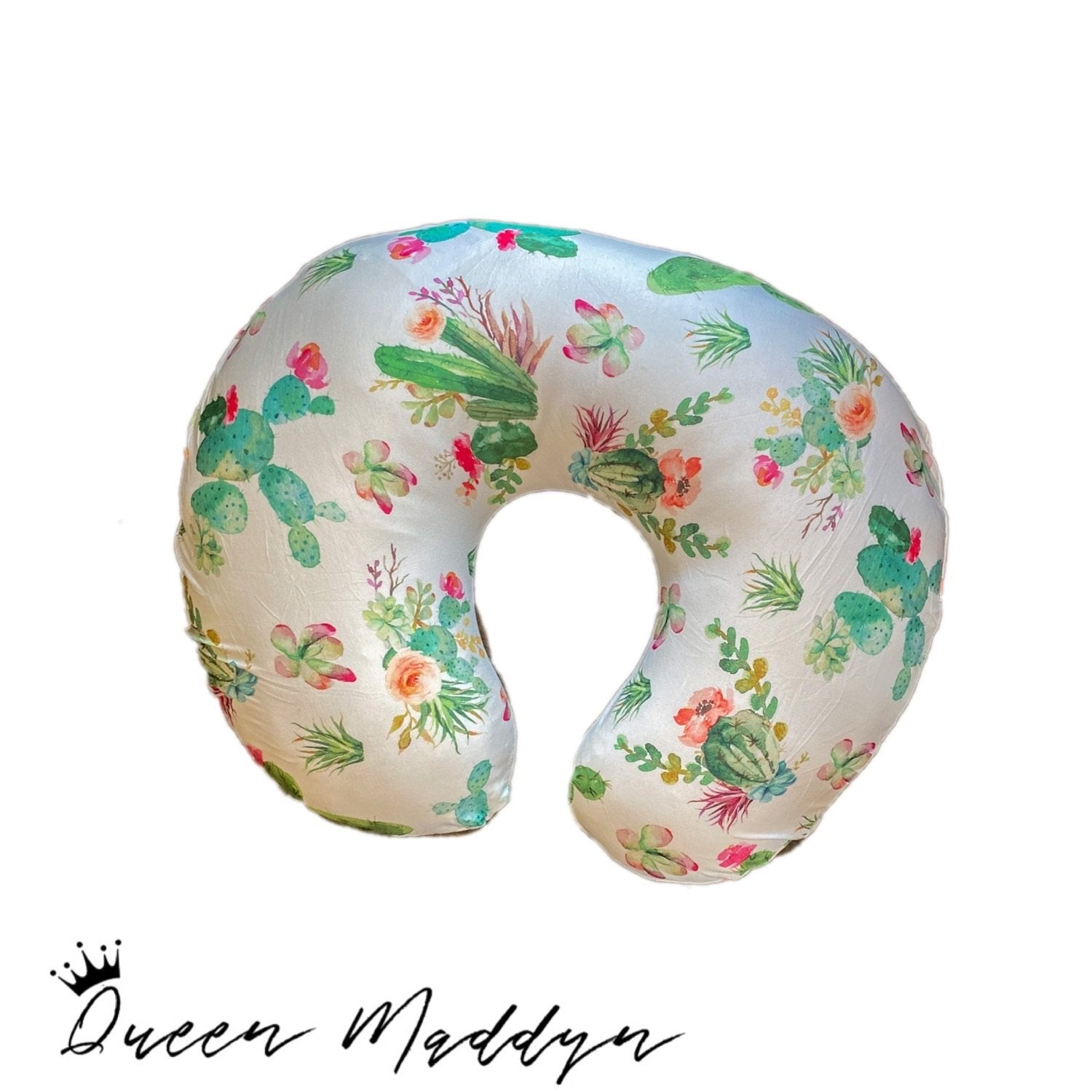 Wild Cactus Nursing Pillow Cover