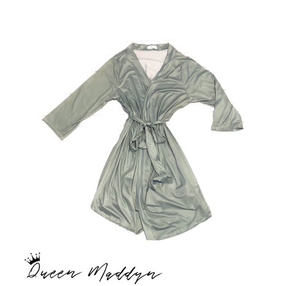 Olive Ladies Robe