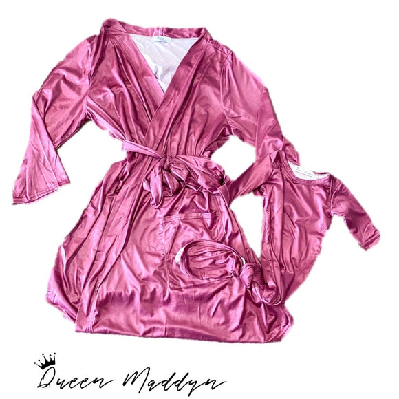Wine Ladies Robe