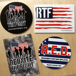 Sticker Pack - Reunite the Fight #1