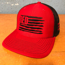 Load image into Gallery viewer, Hat - RTF RED Richardson® (Red/Black)