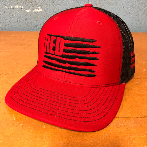 Hat - RTF RED Richardson® (Red/Black)