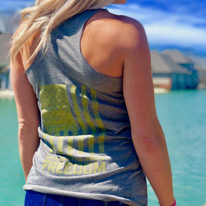 Ladies Tank - RTF Never Forget Logo (Grey)