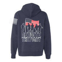 Load image into Gallery viewer, Hoodie - Champion® Originals RTF Logo RWB (Navy Blue)