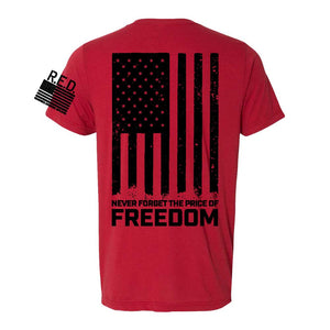 Mens RTF R.E.D T-shirt (Red)