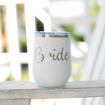 Bride 12oz Tumbler- White
