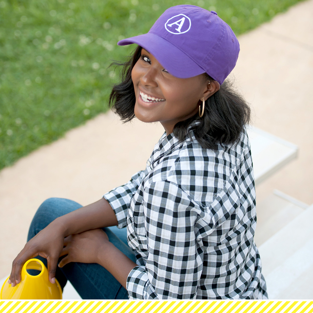 Tailgate Baseball Cap- Purple