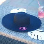 Navy Blue Floppy Hat