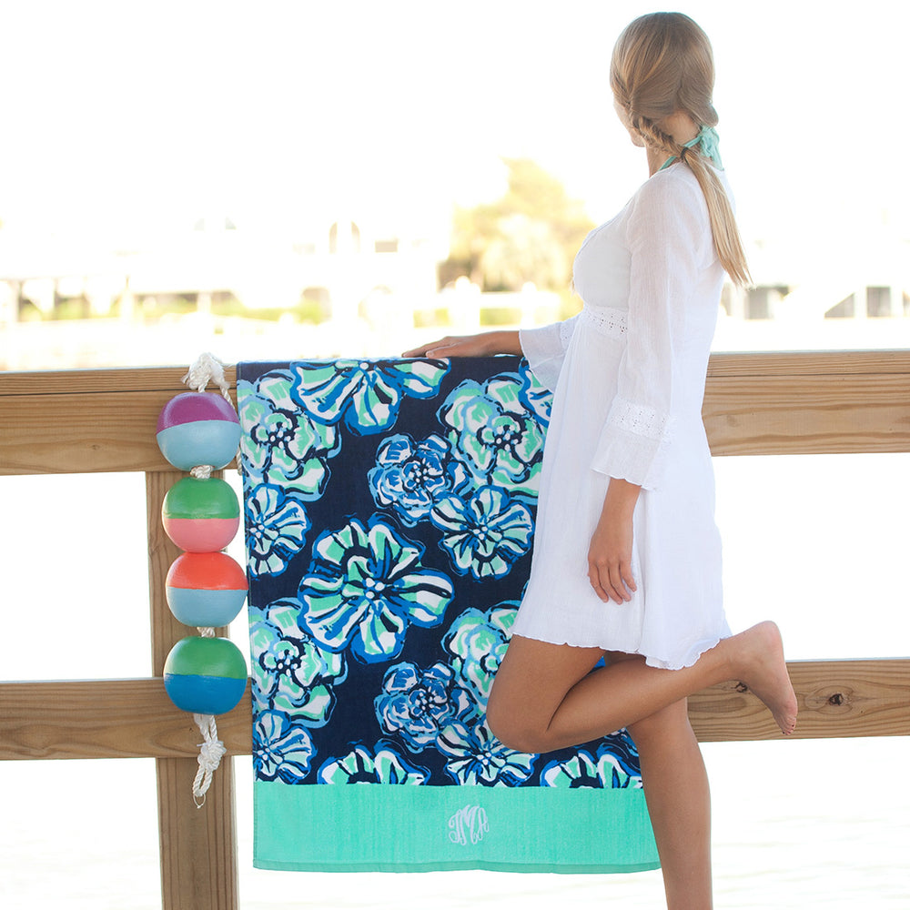 Maliblue Personalized Beach Towel