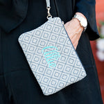 Grey Diamond Everly Wristlet