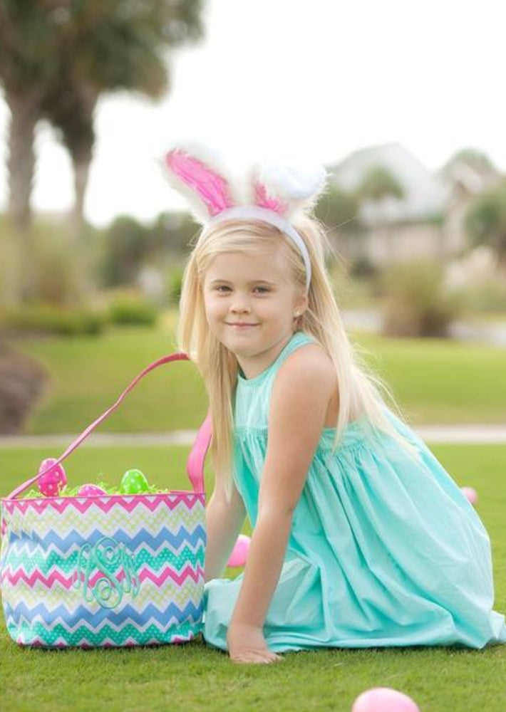 Zaggy Maggie Easter Bucket
