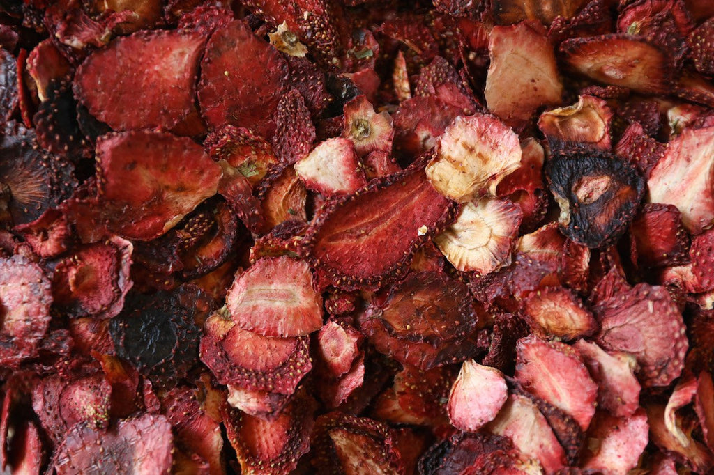 100% Dried Australian Natural Strawberry Only